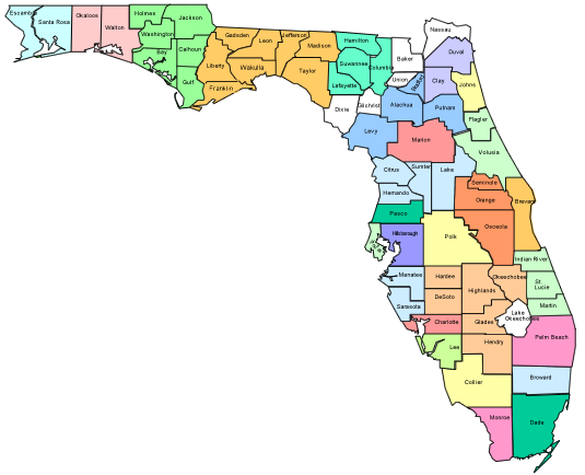 Us 19 Florida Map.Kids Well Florida Florida S Uninsured Children